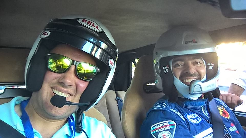CO-DRIVER COM: PEDRO SANTOS SILVA