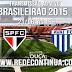 SÃO PAULO x AVAÍ - 16h - 8ª Rodada #BR15 - 21/06
