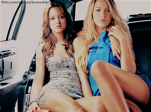 Blake Lively And Leighton Meester Friends Saxy Picture