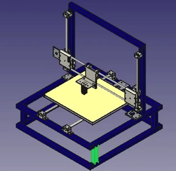 Diy 3d printing design your own 3d printer from recycled for 3d printer layouts