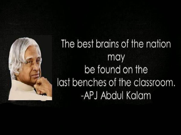 positive thinking apj abdul kalam quotes