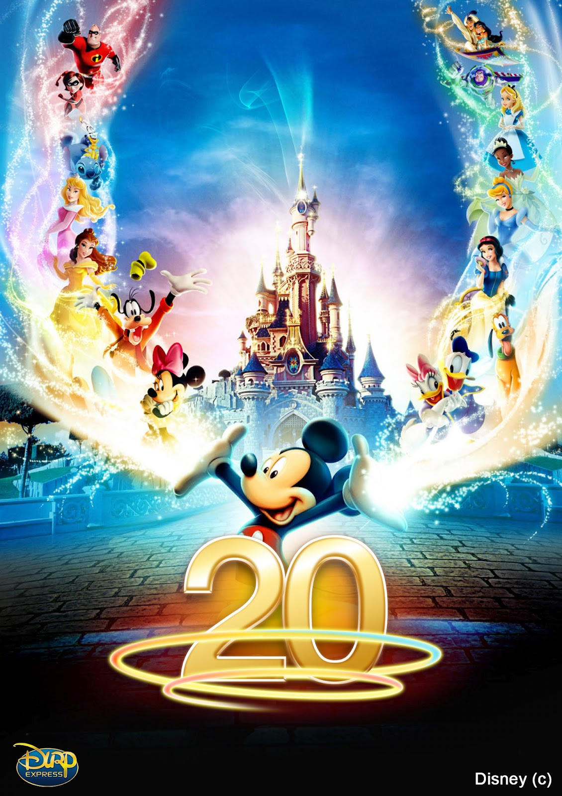 Disneyland paris is now 20