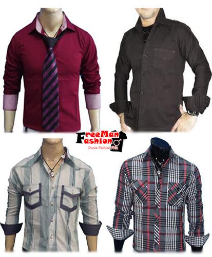 Koleksi Trend Model Kemeja Pria Terbaru 2013