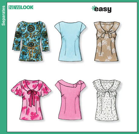 lower your presser foot: best sewing patterns of the year: New Look 6808