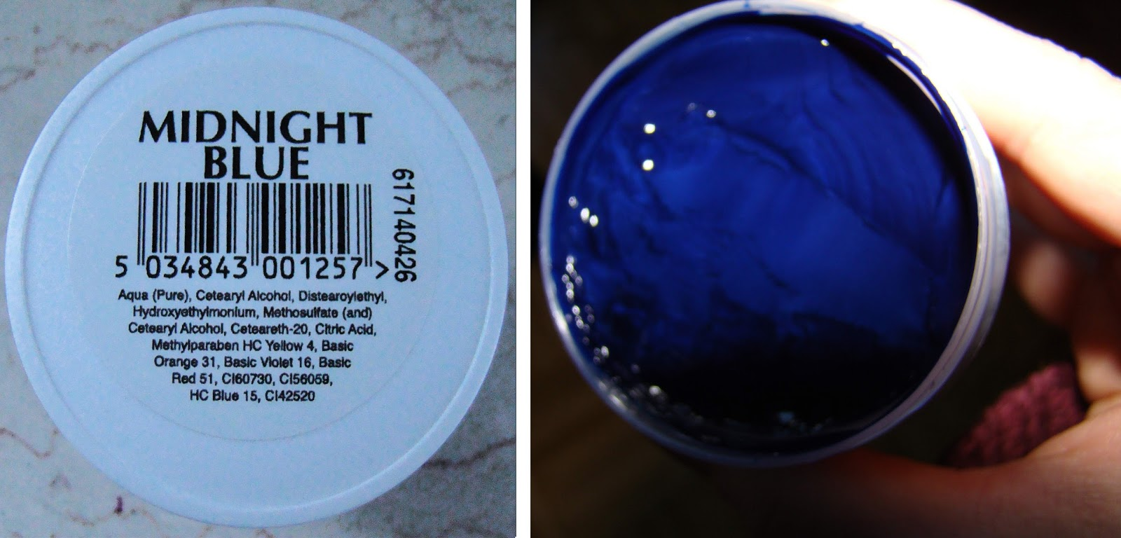 Beauty Gothic La Rich E Directions Midnight Blue Haartonung