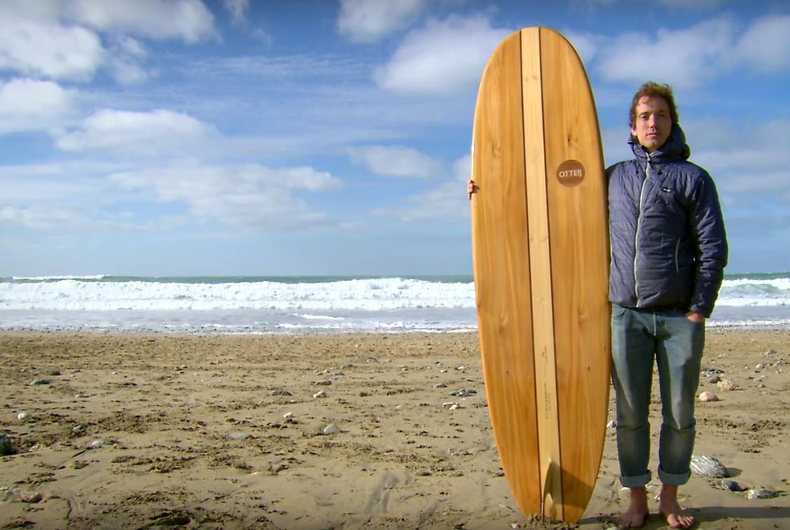 handcrafted wooden surfboard wie man ein surfbrett aus holz baut atomlabor blog dein. Black Bedroom Furniture Sets. Home Design Ideas
