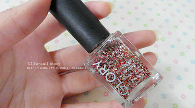 GLORY glitter polish for Spring! Glitter Polish