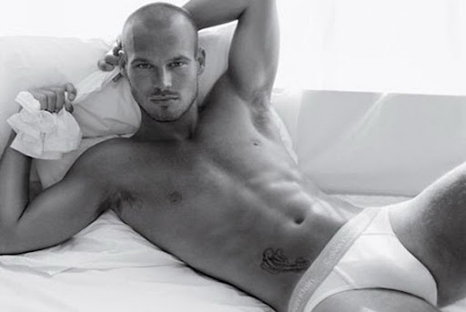 Freddie Ljungberg used to strip off for Calvin Klein underwear advert