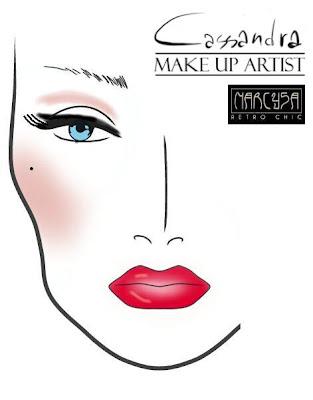 Occhi  Primer: Eyeshadow Fix Primer MATTE (ZOEVA)  Ombretti: Nude Palette (ZOEVA)  Eye Liner: Cat Eye Pen (ZOEVA)  Ciglia Finte: 051 Glamour Lashes (ZOEVA)     Labbra:  Matita contorno: Graphic Lips - Sinner Red (ZOEVA)  Rossetto: Lip Cryon - Pin Up (ZOEVA)     Viso  Correttori: Concealer Palette  Blush: Fresh Pink Rouge Palette (ZOEVA)
