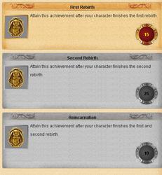 Conquer Online Achievements