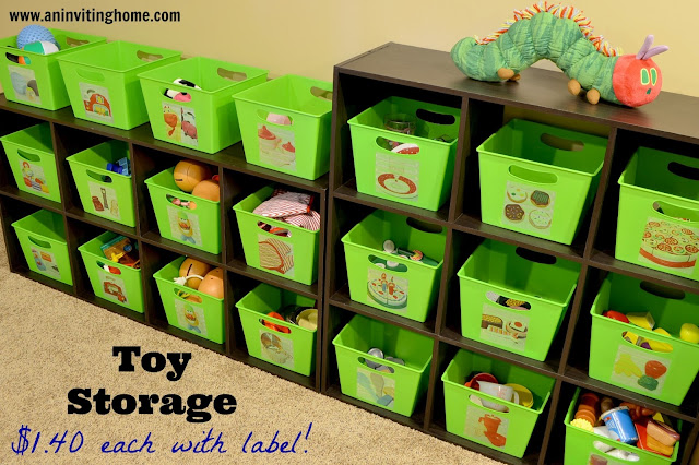 toy storage and inexpensive