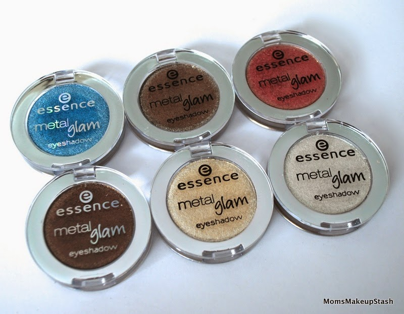 Essence Cosmetics, Essence, Essence Metal Glam Shadows, Metal Glam Shadows, Metal Glam Shadow Review, Essence Eye Shadows Swatches