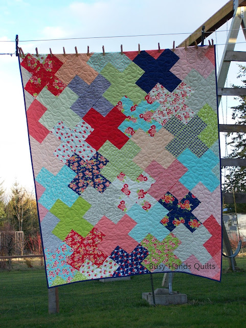 Love Multiplied Quilt Pattern by Myra Barnes