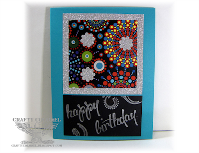 Crafty Colonel Donna Nuce for Club Scrap Celebration Blog Hop, Birthday Card