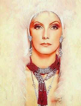 Maravillosa Greta, me recuerda una sioux de lujo