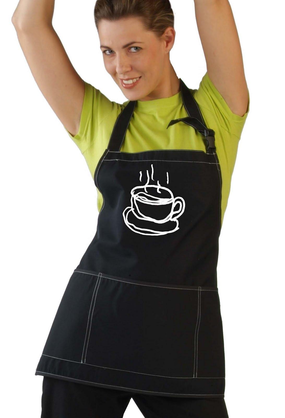Delantales personalizados para cafeterias - Ropa de hosteleria barcelona ...