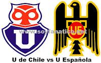 Universidad de Chile vs Union Española 2012