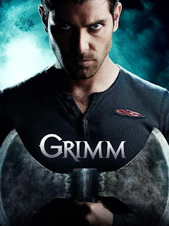 Grimm promo poster with David Giuntoli