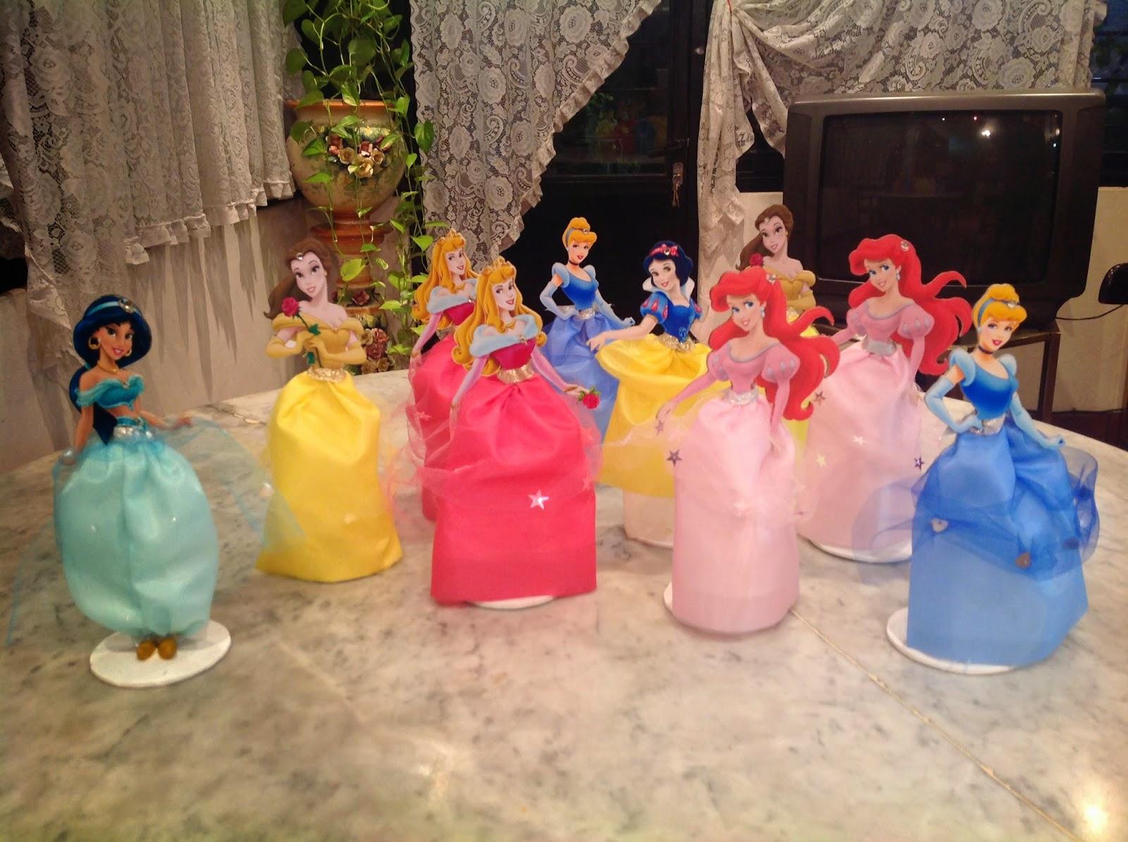 Tarjeta de Cumpleaños de Las Princesas Disney, lindo