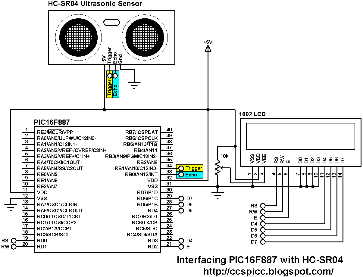 Distance meter using PIC16F887 and HC-SR04 ultrasonic sensor on level sensor diagram, switch diagram, pressure sensor diagram, photoelectric sensor diagram, ir sensor diagram, oxygen sensor diagram, timer diagram, flow sensor diagram, instrumentation diagram, proximity sensor diagram, speed sensor diagram, light sensor diagram, hall effect sensor diagram, motion sensor diagram, radar sensor diagram, infrared sensor diagram, capacitive sensor diagram, magnetic sensor diagram, sound sensor diagram, microwave sensor diagram,