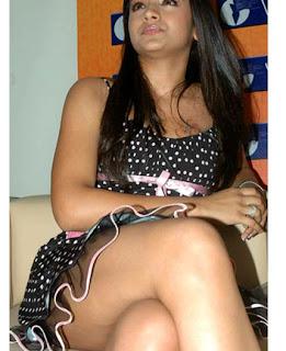 Tamil Actress Trisha in Short Skirt Photos