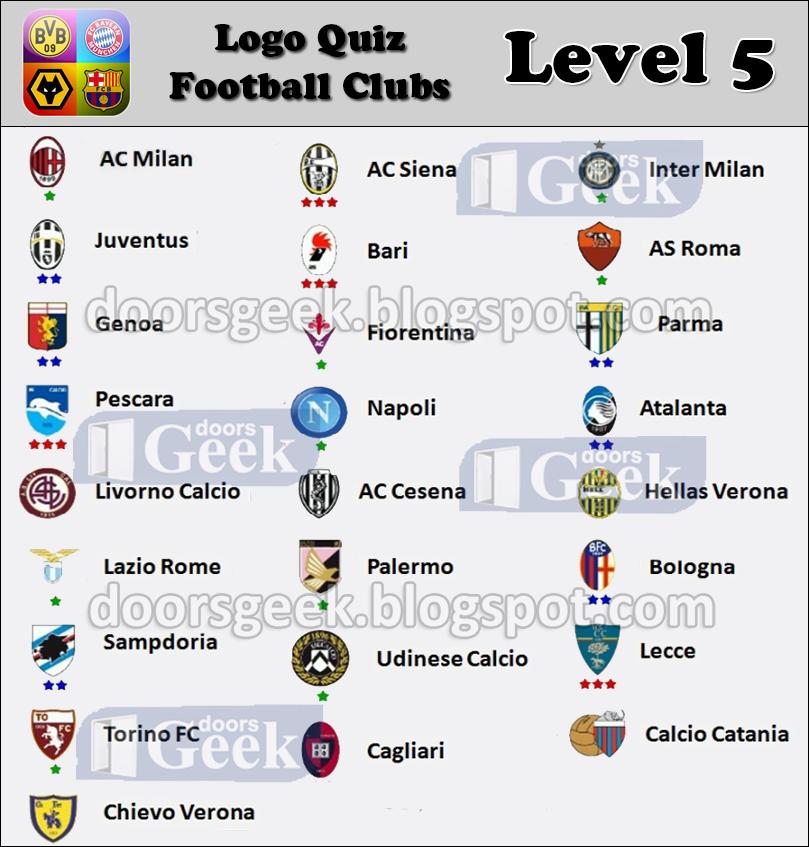 Logo Quiz - Soccer Clubs [Level 5 - Italy] ~ Doors Geek - photo#23