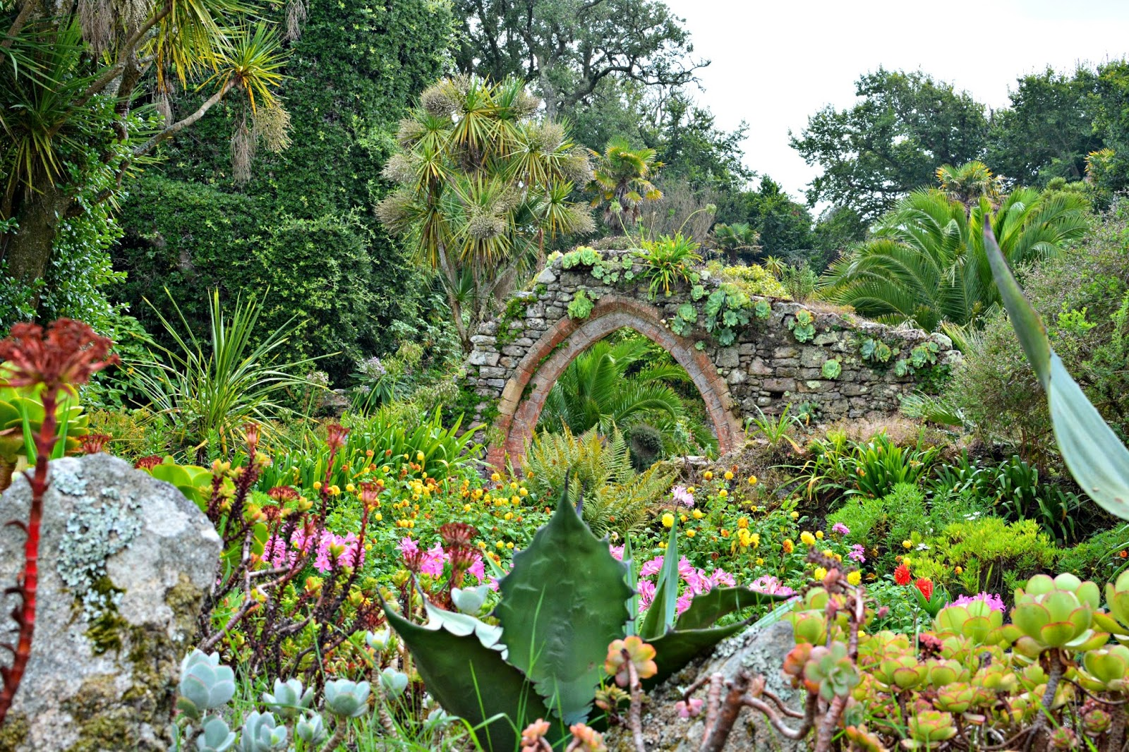 Old Abbey in Tresco Abbey Gardens