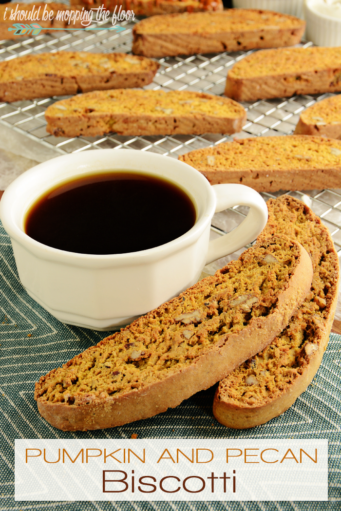 Pumpkin & Pecan Biscotti Recipe | PLUS, Free Boo-ing Printables perfect for the classic Halloween Boo-It-Forward game.