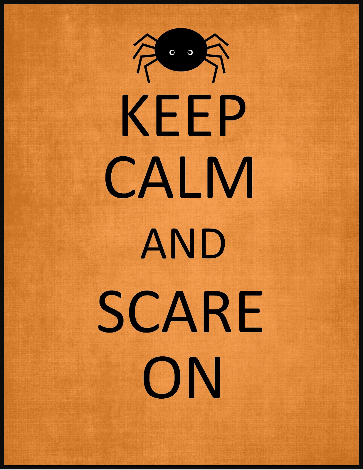 picture regarding Happy Halloween Signs Printable identified as Basically Artistic Madness: Freebie Notify: Halloween Symptoms!