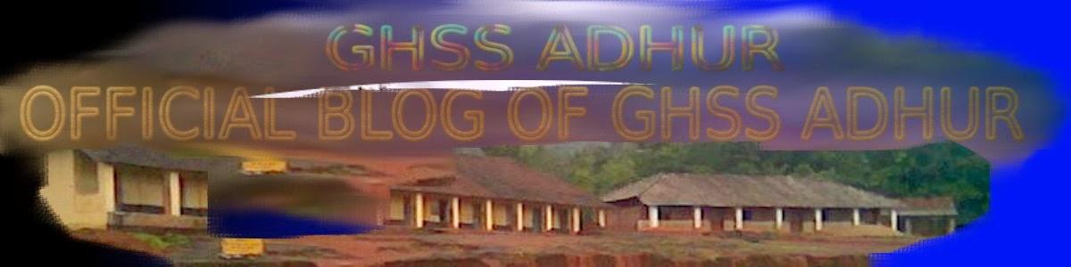 GHSS ADHUR