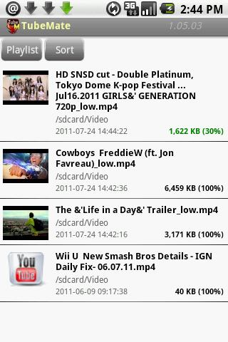 Tubemate video youtube downloader for android