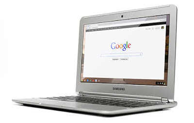 laptop with chromebook system