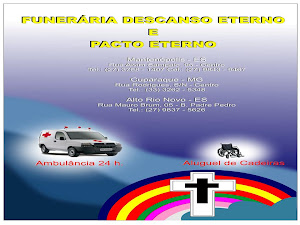 """""""Funerária Descanso Eterno"""" E """"Pacto Eterno"""""""