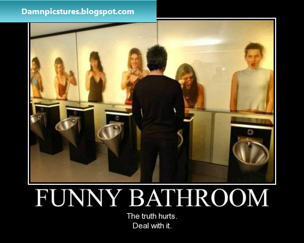 Damn pictures dirty mind bathroom the truth hurts for Bathroom funny videos
