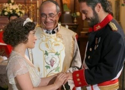 Candela e Tristan matrimonio