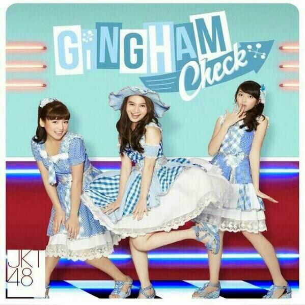 Cord Gitar JKT48 - Gingham Check