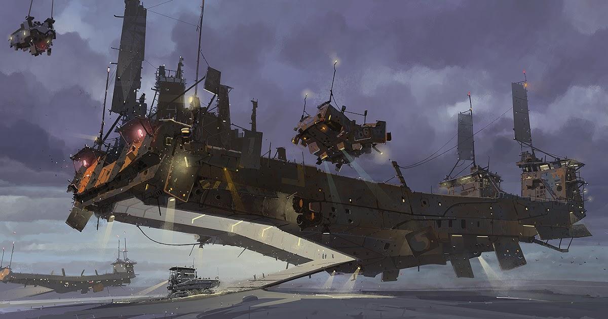 ian mcque concept art ark