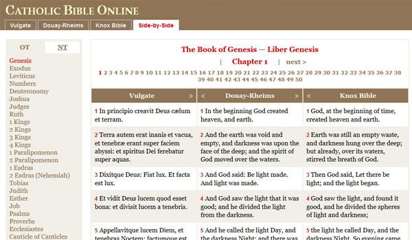Catholic Bible Online