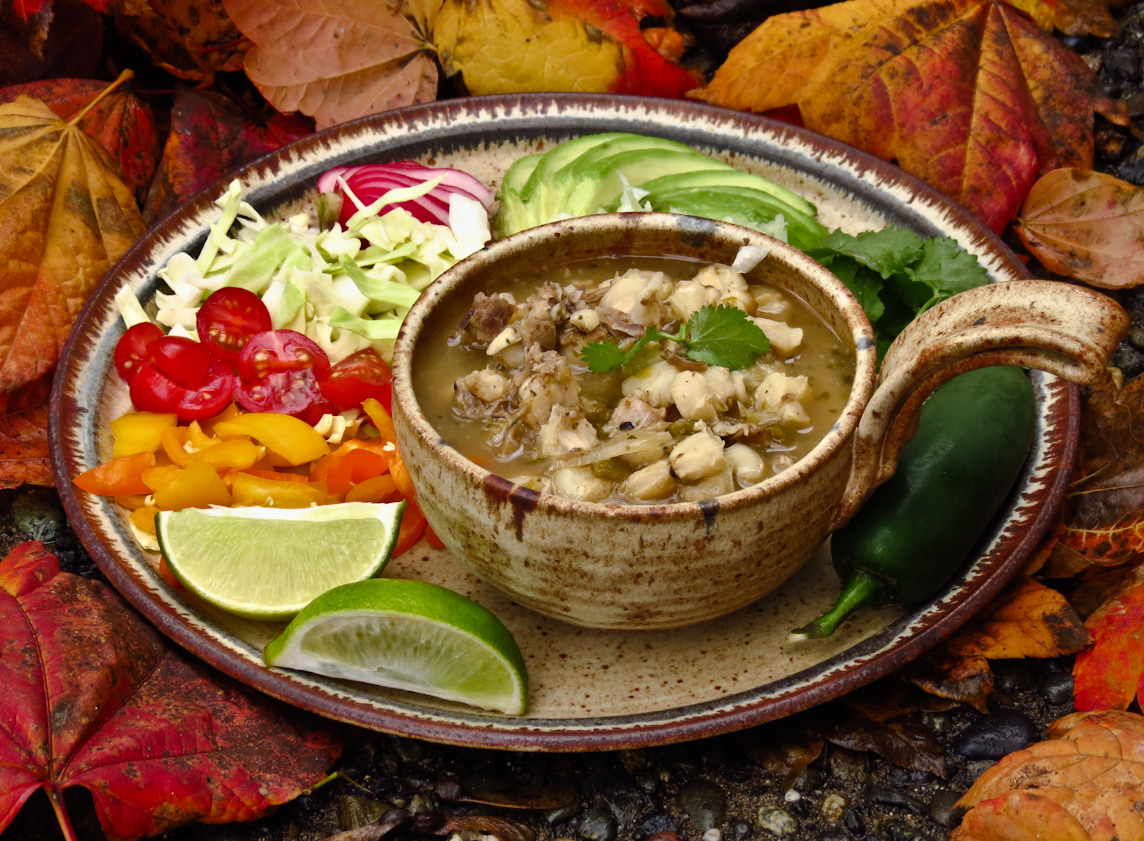 Chipotle Turkey Pozole Recipe — Dishmaps