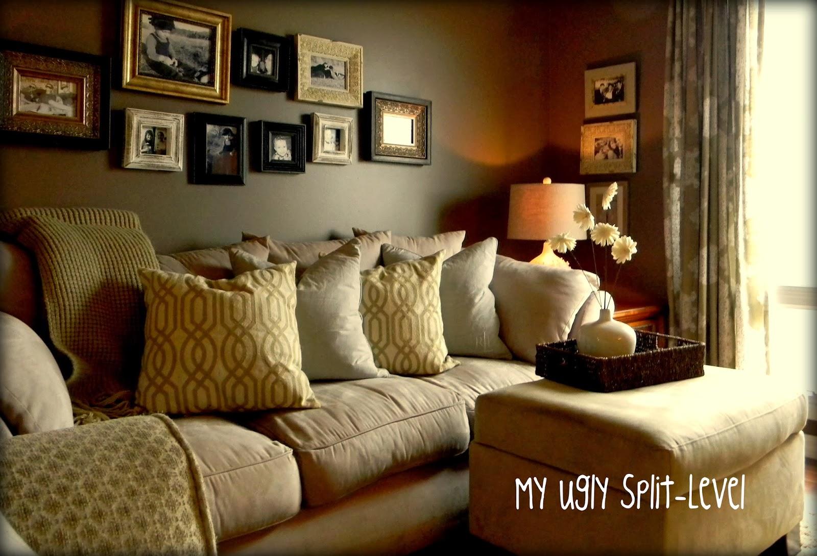 Split Level Living Room My Ugly Split Level The Living Room
