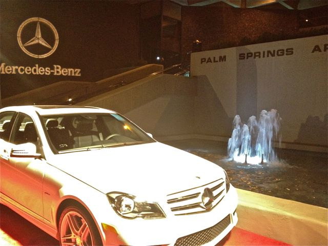 Things to ponder opening night film at the palm springs for Mercedes benz of palm springs