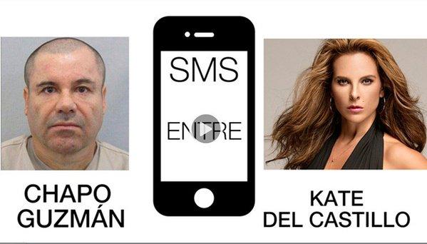 Conversación completa entre El Chapo y Kate del Castillo