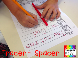 Guest blog post from Faith at Kindergarten Faith who shares A DIY Perfect Spacer for Handwriting!