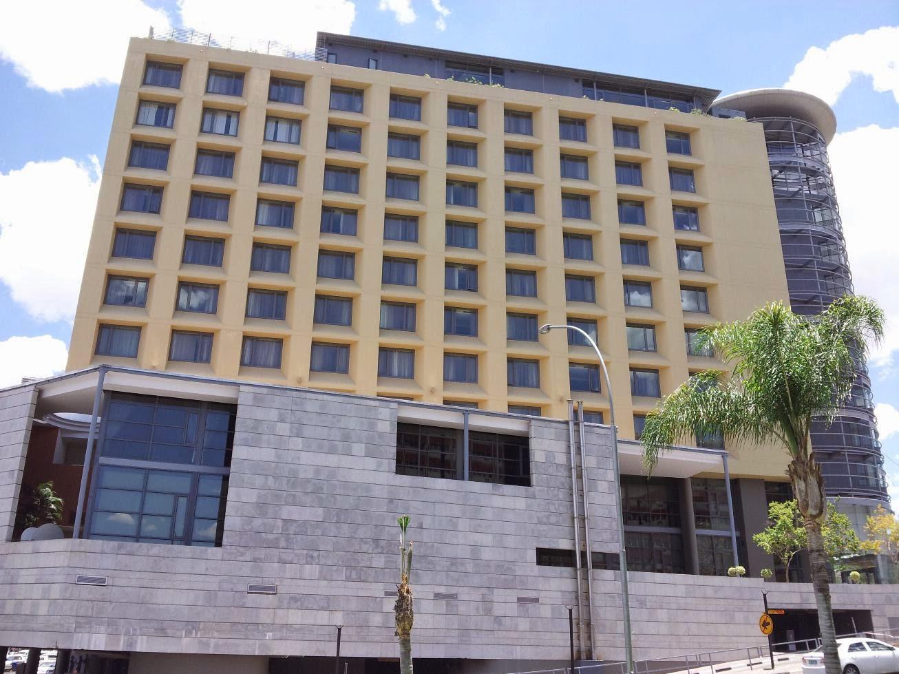 Hilton Hotel Windhoek, Namibia
