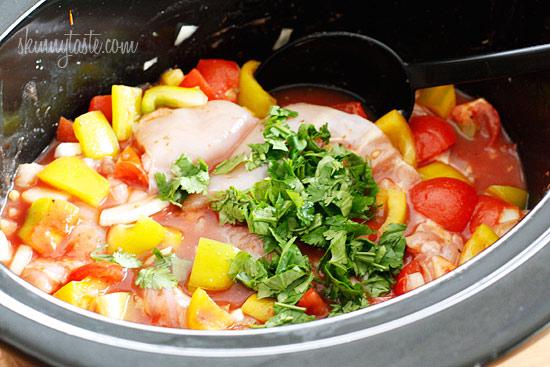 Crock Pot Chicken a la Criolla   Skinnytaste