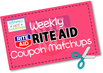 Weekly Rite Aid Coupon Matchups