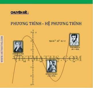 chuyen de phuong trinh he phuong trinh cua mathscope