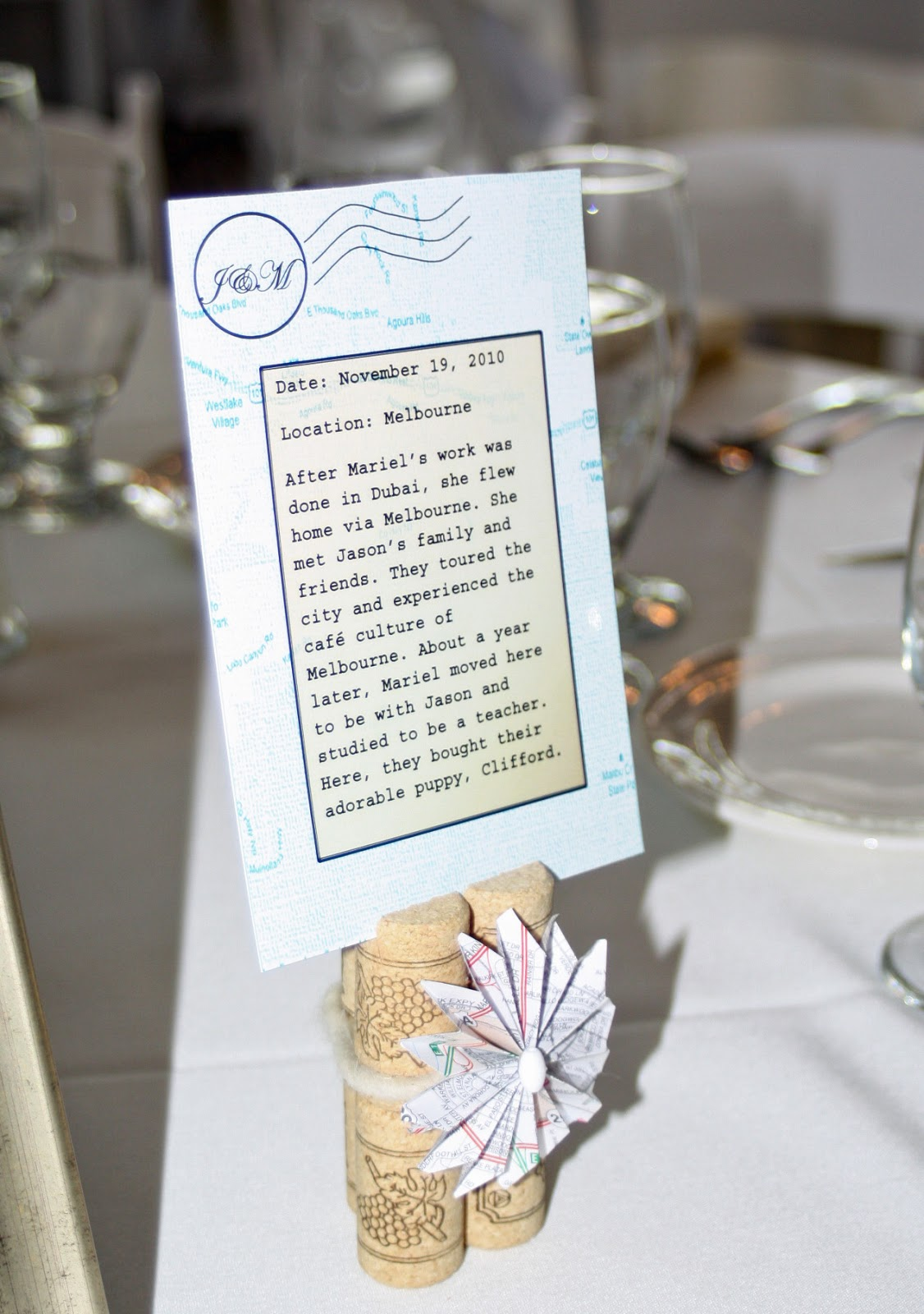Pastries By Vreeke: Travel Themed Wedding