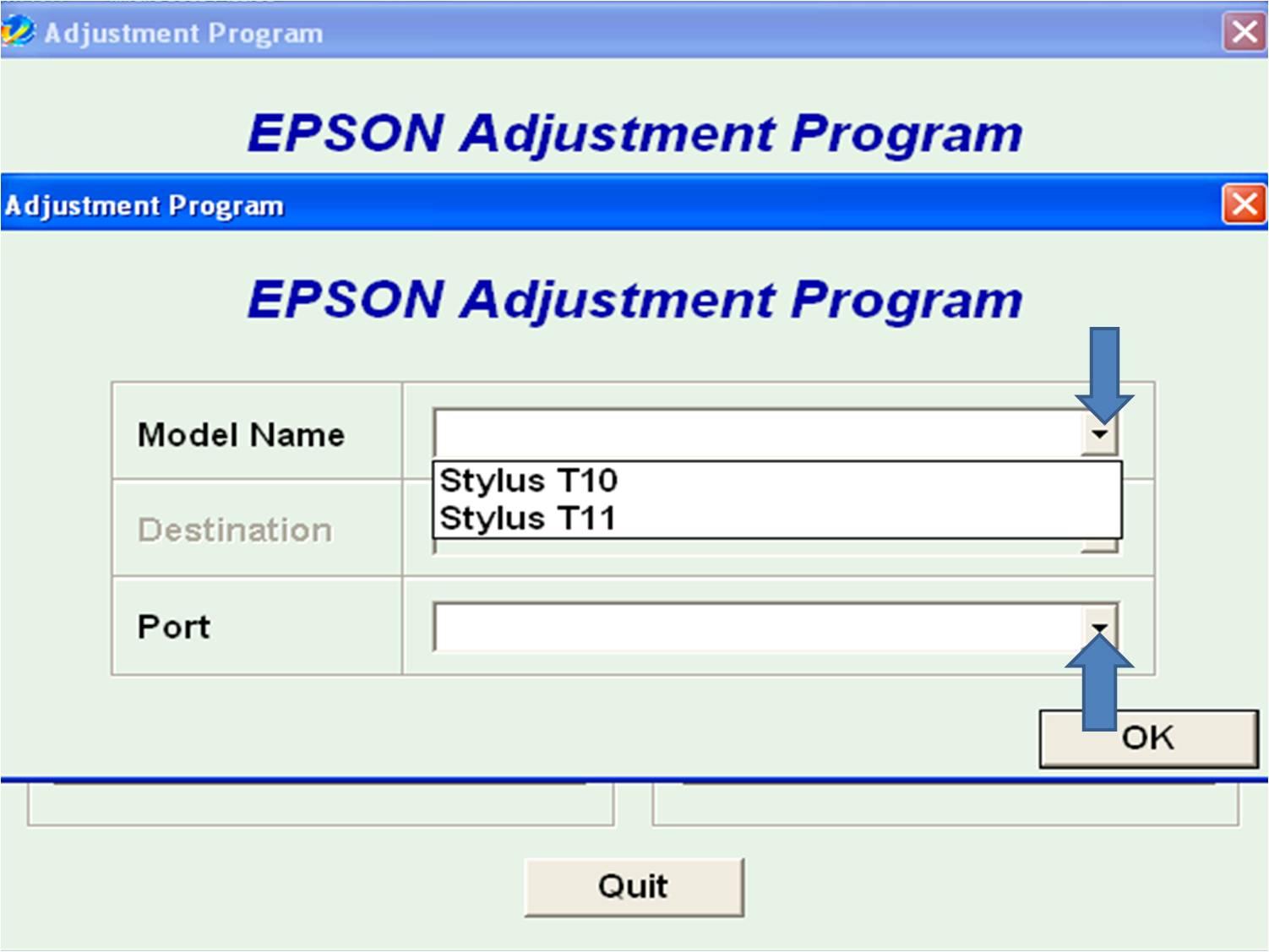 TryPrint: Software reseter dan cara mereset printer epson