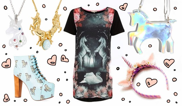 fashion, unicorns, tatty devine, jefferey campbell